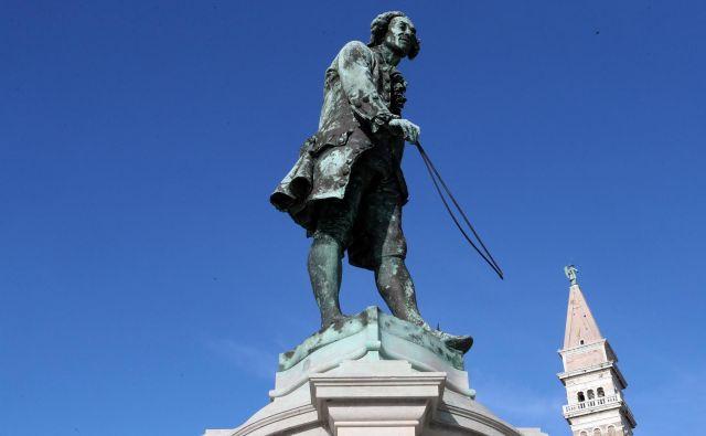 Ob 250-letnici smrti znamenitega violinista Giuseppeja Tartinija bo Piran ponudil vrhunsko glasbo in kulturo. FOTO: Igor Mali/Slovenske novice