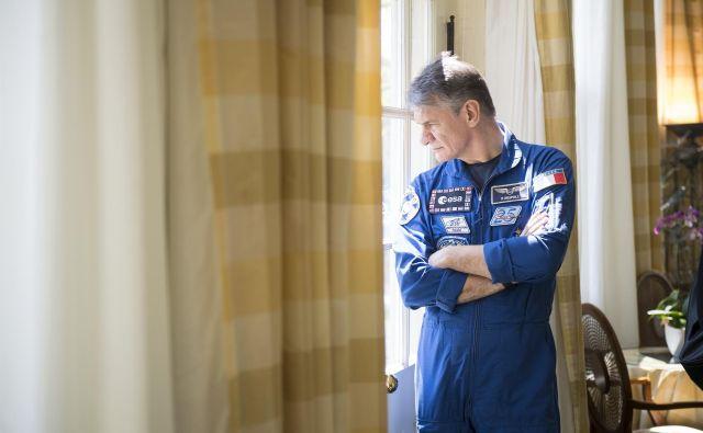 2224-krat je Paolo Nespoli med zadnjo, petmesečno odpravo obkrožil Zemljo.FOTO: Nasa