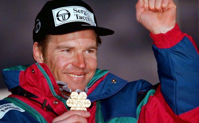 Med drugimi uspehi se lahko Marc Girardelli pohvali tudi s kar petimi velikimi kristalnimi globusi. FOTO: Reuters