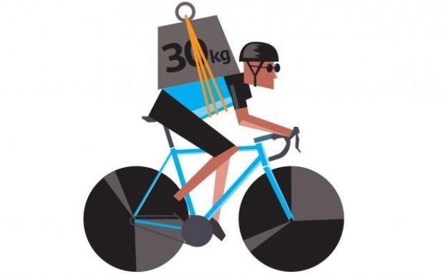 Primerjala sta izgubo treh kilogramov na človeškem telesu in prav toliko kilogramov lažjim kolesom. Foto: Cycling.co
