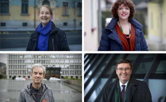 Med okoli 700 britanskimi državljani, ki živijo in delajo v Sloveniji, so tudi Gill Wraight, Ange Tonge, Chris Wherry in Simon Robinson. Foto: Voranc Vogel, Blaž Samec, Roman Šipić