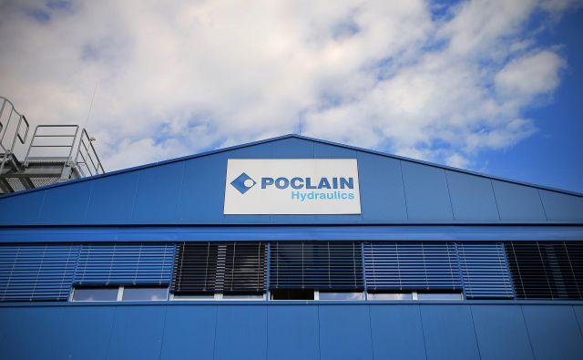 Poclain Hydraulic FOTO: Jož�e Suhadolnik