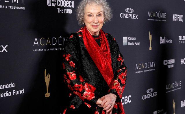 Margaret Atwood bo spet izdala pesniško zbirko. FOTO: Fred Thornhill/Reuters