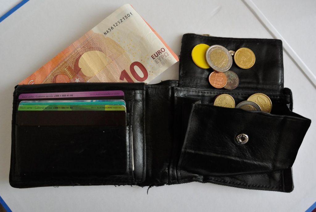 Več kot pol Slovencev živi od plače do plače