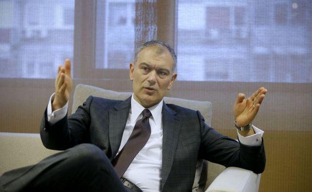 Prvi mož Atlantic Group, glavnega pokrovitelja KK Cedevita Olimpija, Emil Tedeschi ima pri nas odlične poslovne investicije, zaradi katerih je tudi v slovenskem interesu, da je zadovoljen z odnosom države.<br />FOTO: Blaž Samec/Delo