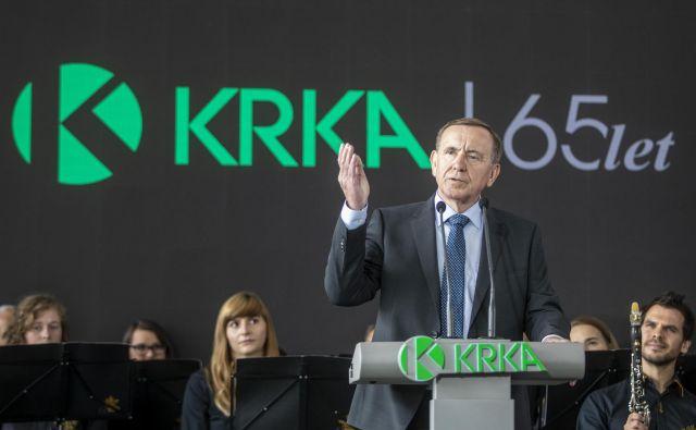 Predsedniku uprave Krke Jožetu Colariču je lani k rekordnemu rezultatu pomagal upad vrednost evra. Prodaja je močno poskočila predvsem v državah Zahodne Evrope in Vzhodne Evrope. FOTO: Voranc Vogel/Delo