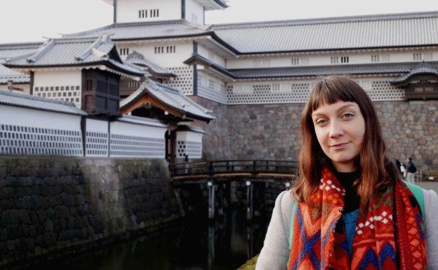 Slaba tri leta študira japonski jezik na tokijski univerzi, eni najbolj priznanih na svetu. FOTO: Osebni arhiv
