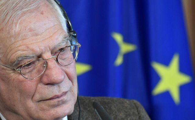 Glavna Borrellova naloga bo odpravljanje blokad, kot je francoska zahteva spremembe metodologije širitvene politike. FOTO: AFP