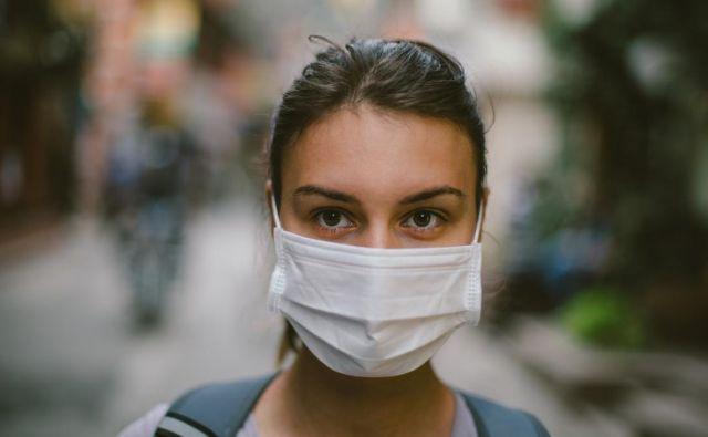 Zaščitna maska. Foto Gettyimages