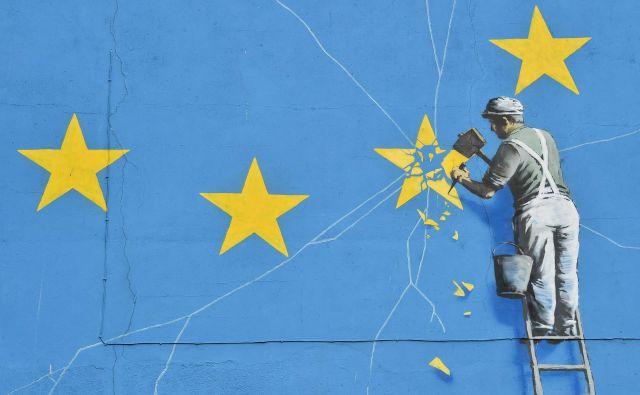EU z izstopom svoje druge največje članice po velikosti BDP in stalne članice varnostnega sveta OZN izgublja tudi geopolitično moč. Foto: Glyn Kirk/Afp