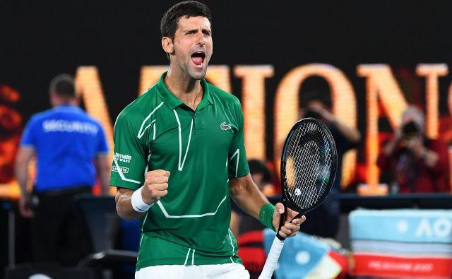 Novak Đoković v Avstraliji spet deluje nepremagljivo. FOTO: AFP