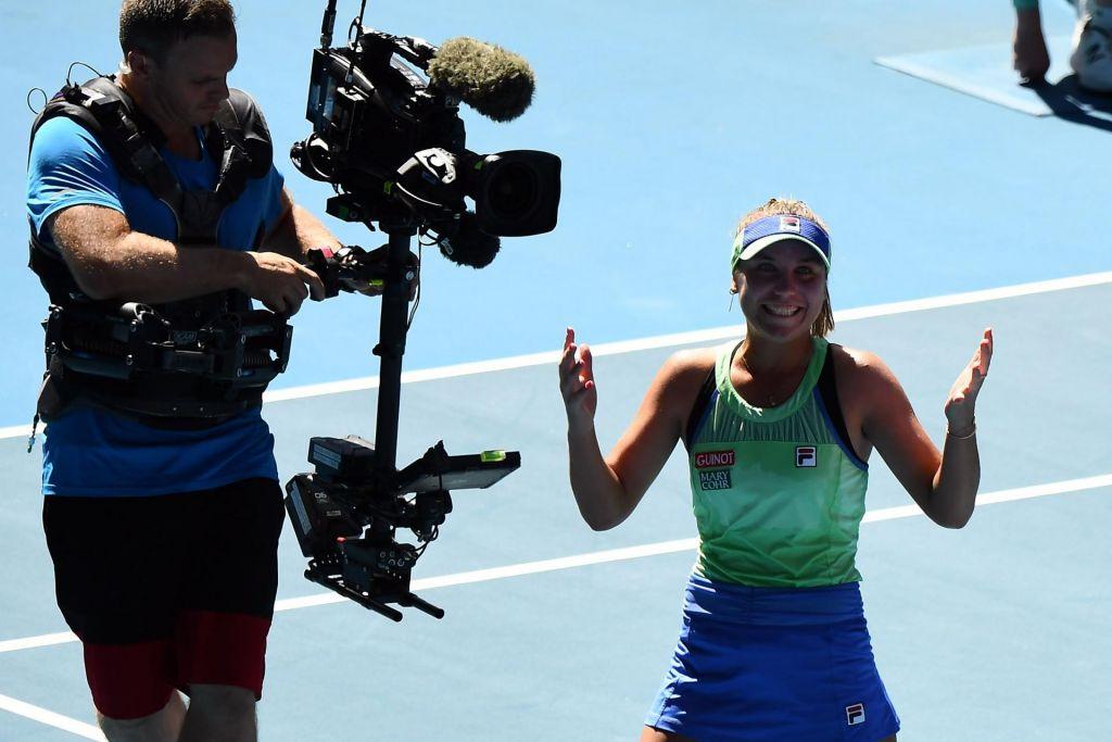 FOTO:Sofia Kenin prvič v finale, v katerem bo izzvala Garbino Muguruzo