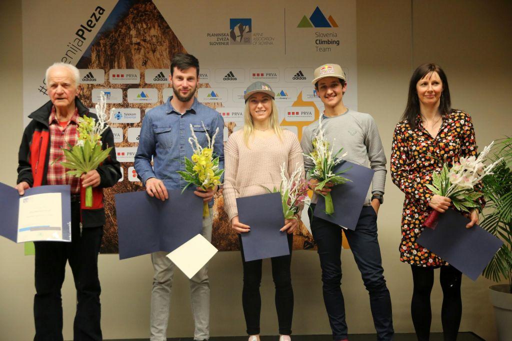 Planinska zveza počastila junake leta 2019