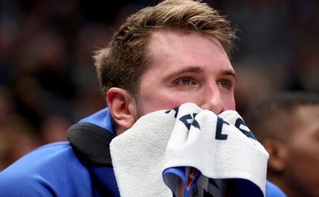 Luka Dončić komaj čaka, da se bo lahko vrnil na igrišča. FOTO: AFP