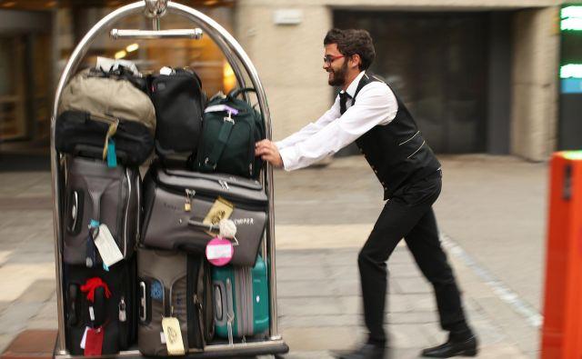 Hotelirji imajo vse bolj polne roke dela. Foto Jure Eržen