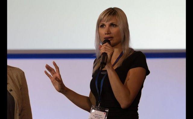Selina Juul je pred kratkim nastopila na konferenci o odpadni hrani v Vatikanu. FOTO: Youtube