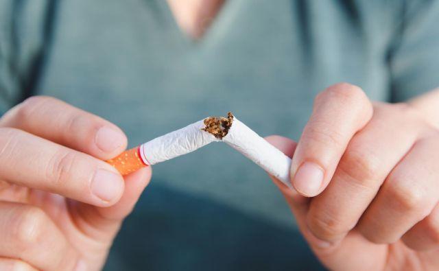 Cigaretam se lahko tudi odpovemo. FOTO: Thinkstock
