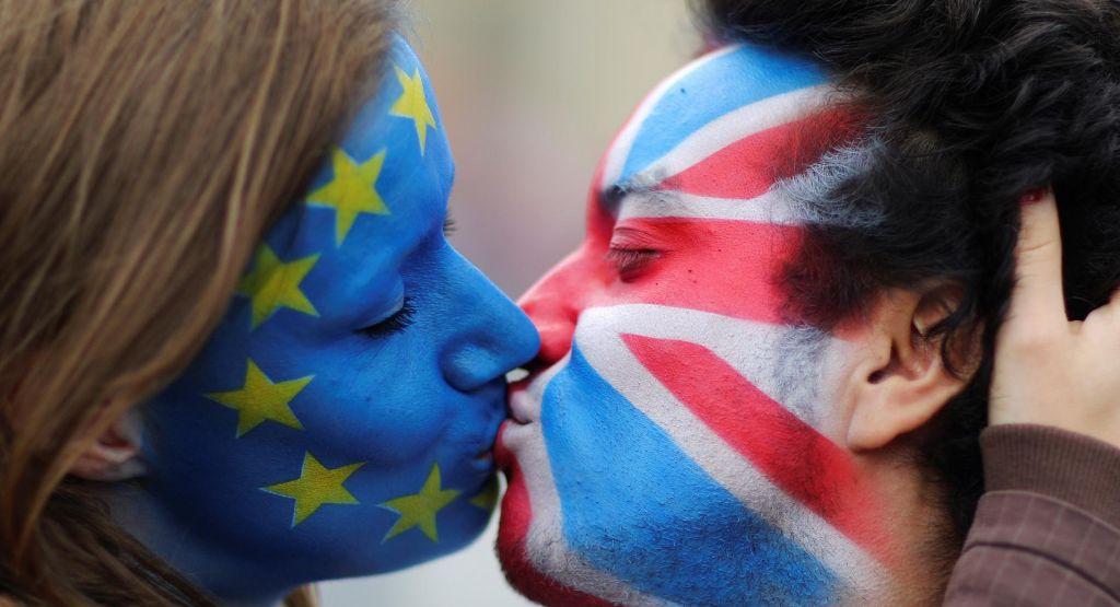 FOTO:Od referenduma do izstopa