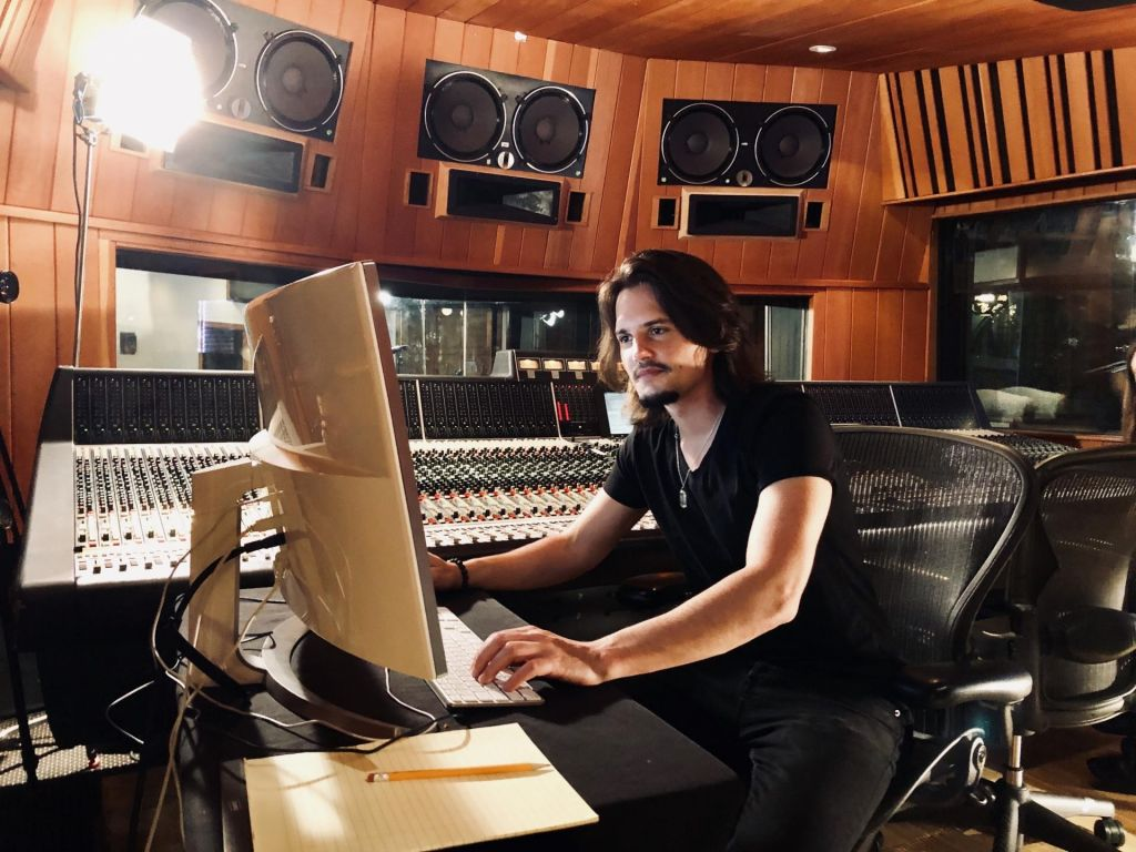 FOTO:Anže Rozman: Slovenski skladatelj v delavnici filmske glasbe Hansa Zimmra