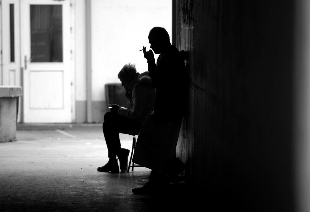 Slovenke, cigareta obrača, rak obrne