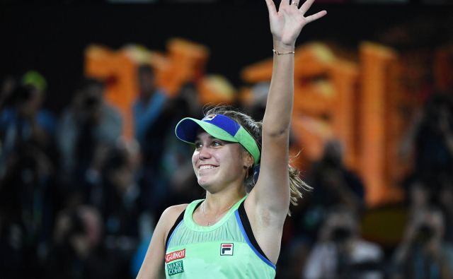 Sofia Kenin FOTO: Greg Wood/AFP