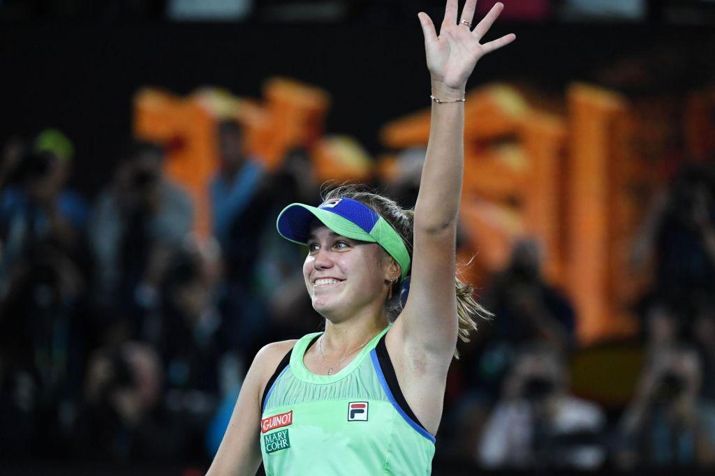 Sofia Kenin osvojila odprto prvenstvo Avstralije v tenisu