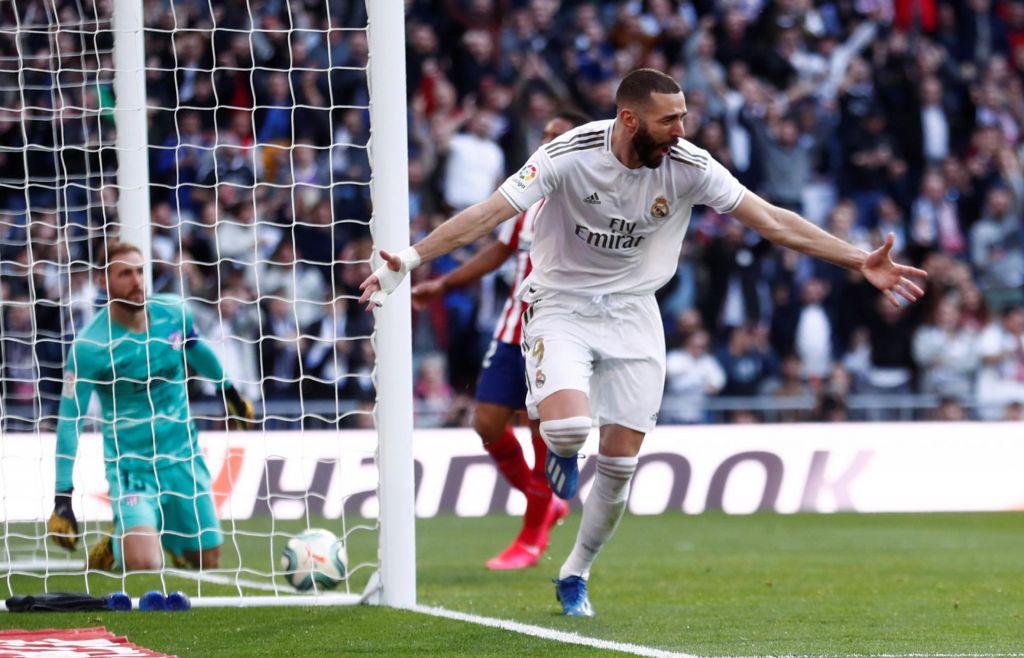 Atletico boljši v prvem polčasu, na koncu se je veselil Real Madrid