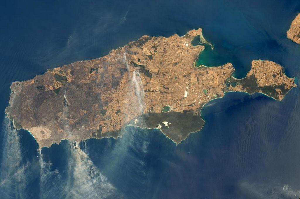 Satelitski podatki razkrivajo razsežnosti požarov v Avstraliji