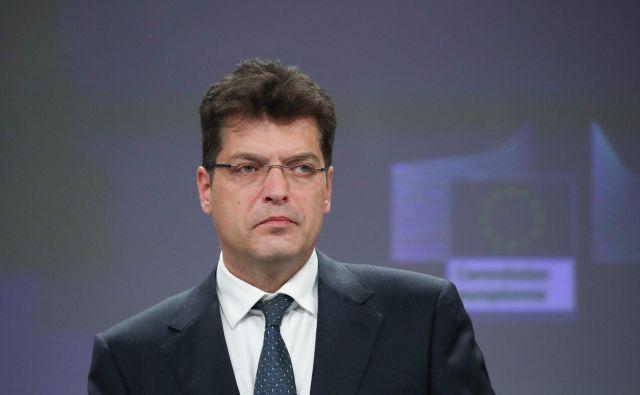Evropski komisar <strong>Janez Lenarčič </strong>se je v preteklosti kot visok diplomat veliko ukvarjal z arbitražno temo FOTO: Aris Oikonomou/AFP