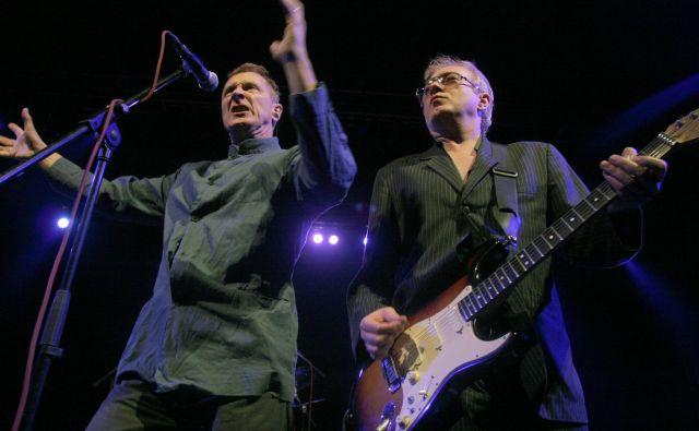 Andy Gill, kitarist skupine Gang of Four, je 24. maja nastopil v Križankah.<br /> FOTO: Mavric Pivk