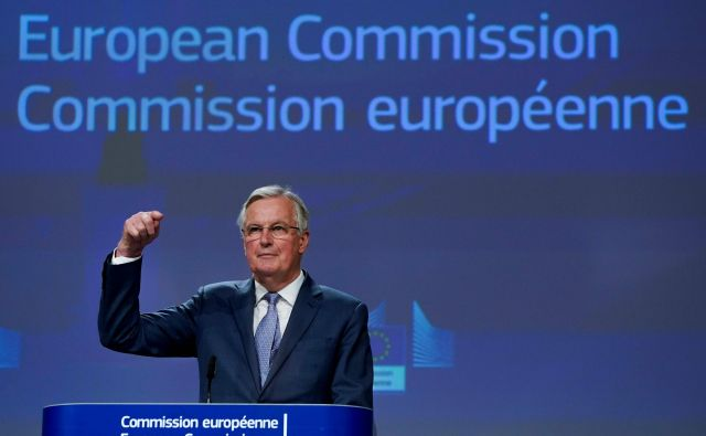 Tudi v drugi fazi brexita, pogajanjih o prihodnjih odnosih, bo glavni pogajalec na bruseljski strani FrancozMichel Barnier. Foto: Kenzo Tribouillard/Afp