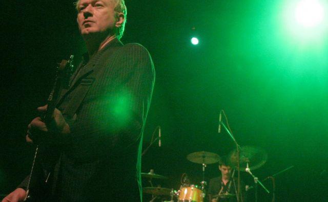 Andy Gill v Križankah na Drugi godbi.<br /> Foto Mavric Pivk