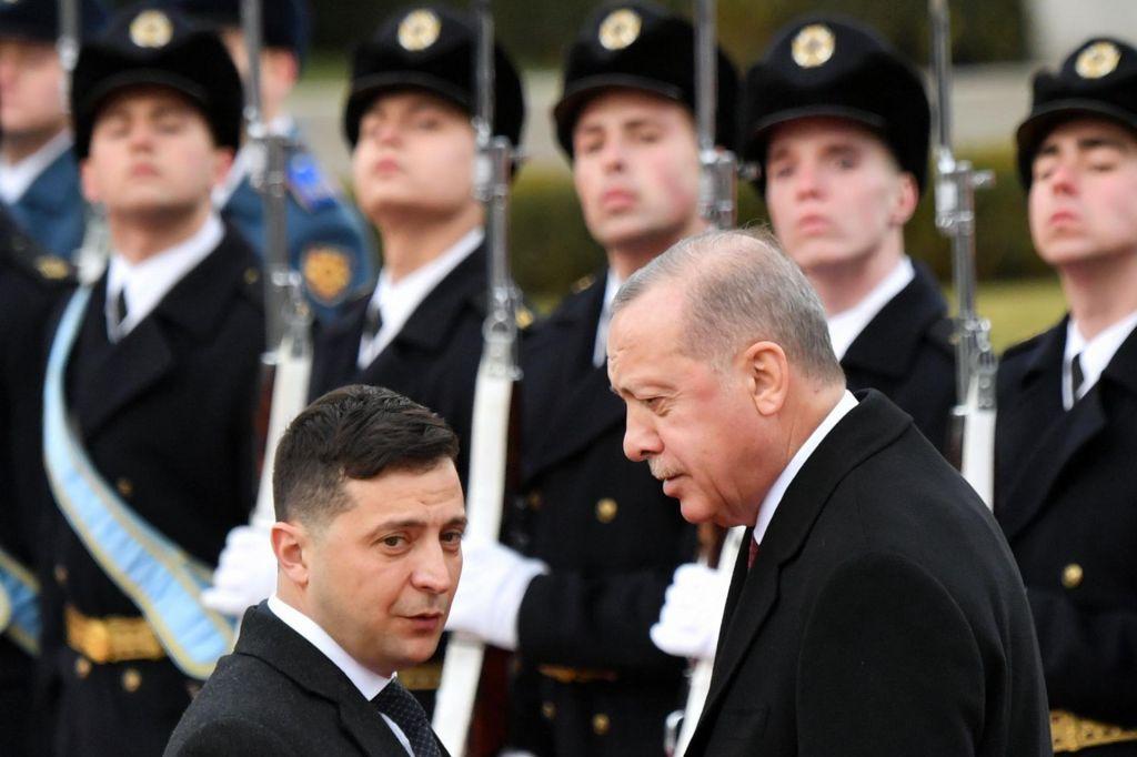 Ankara je Kijevu obljubila vojaško pomoč