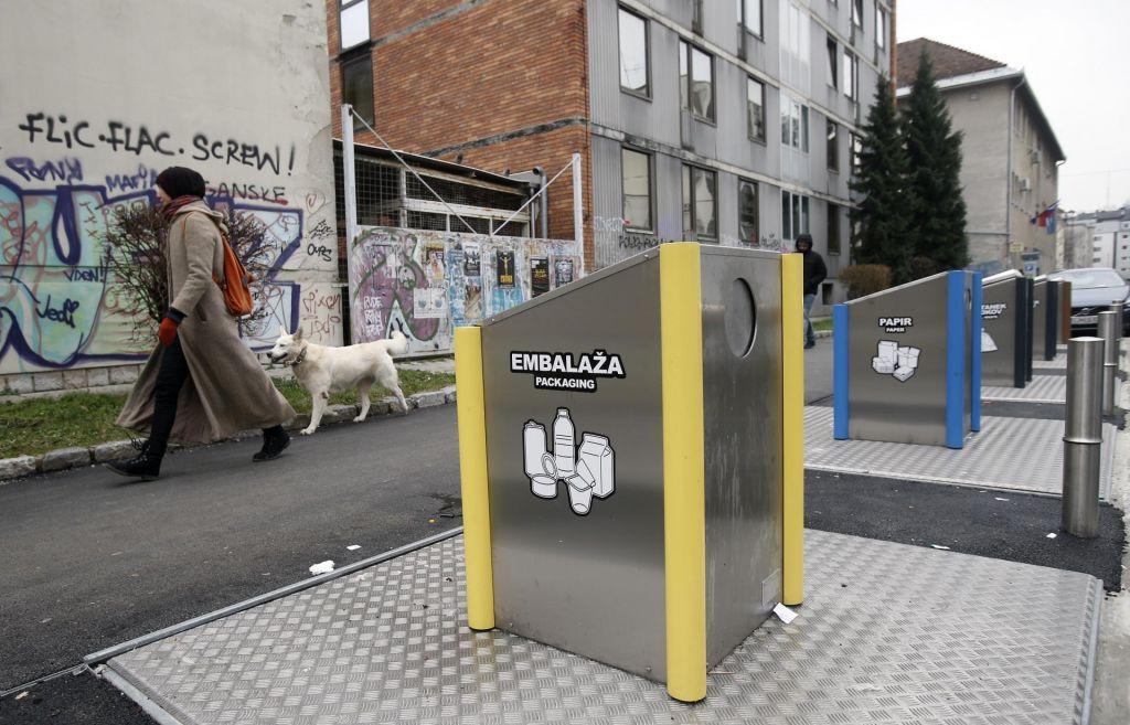 Mini zbirni centri za ločene odpadke