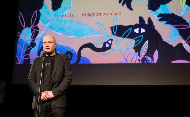 Direktor Beletrine Mitja Čander je nagovoril vidna imena iz sveta literature. FOTO: Matej Pušnik