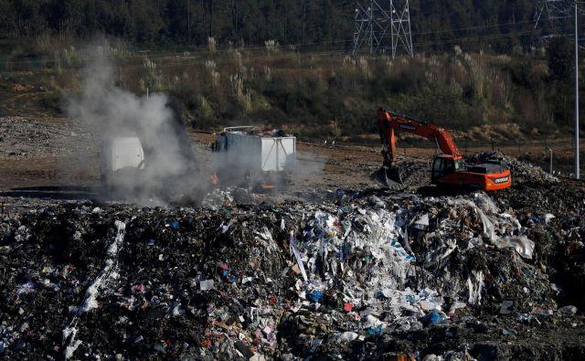 Portugalska noče več odpadkov iz drugih evropskih držav.<br /> FOTO: Rafael Marchante/Reuters