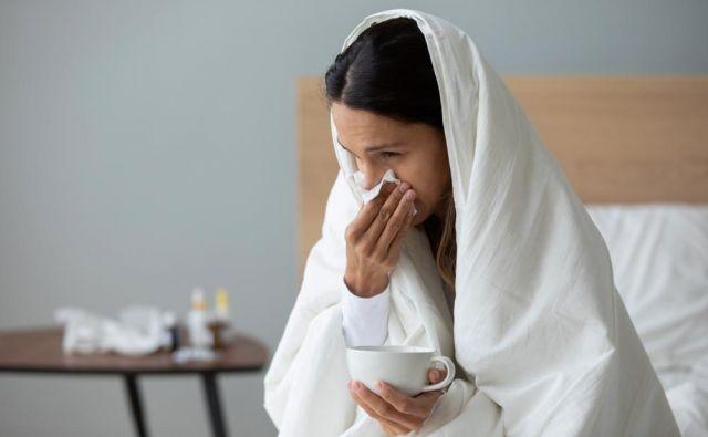 Če ste prehlajeni, še ne pomeni, da morajo zboleti vsi okoli vas. Foto Shutterstock