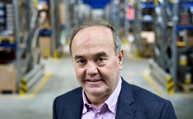 Ilija Tokić je eden od ustanoviteljev podjetja Tokić. Foto Boris Kovačev/Cropix