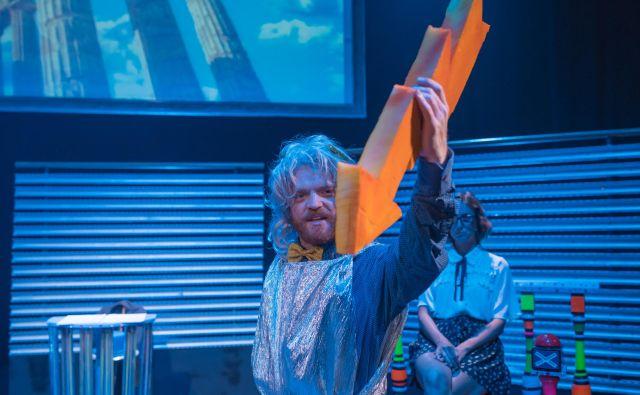 Utrinek iz predstave Lepo je biti Koprčan Renate Vidič. FOTO: Gledališče Koper