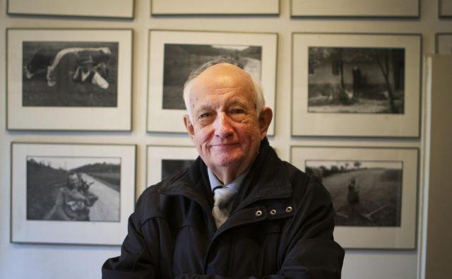 Razstavljal je v 52 državah sveta, ob 80-letnici (pred dobrim letom dni) so v Moderni galeriji v Ljubljani pripravili veliko pregledno razstavo njegovih fotografij. FOTO: Jože Suhadolnik