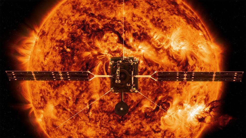FOTO:Sonce dobiva novega obiskovalca
