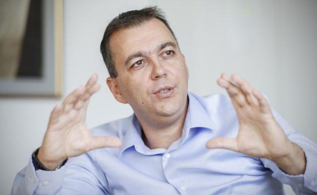 Robert Ljoljo, predsednik uprave Leka. FOTO: Uroš Hočevar/Delo