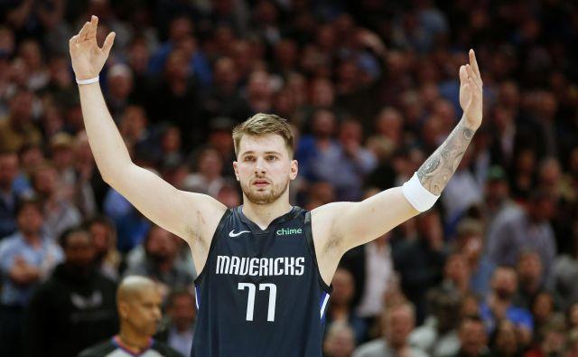 Luka Dončić bo kmalu v eni vodilnih vlog med košarkarskimi zvezdniki. FOTO: Reuters