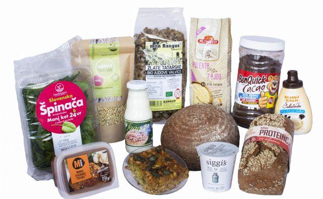 Najbolj inovativna živila leta 2020. FOTO: Inštitut za nutricionistiko