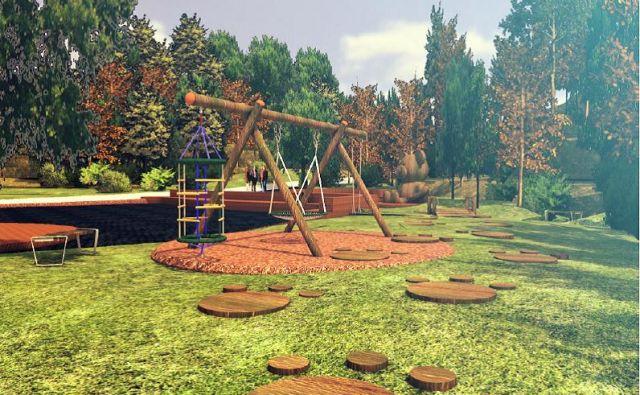 Območje bajerja bodo uredili in z igrali razveselili tudi najmlajše. FOTO: Arhiv občine Grosuplje