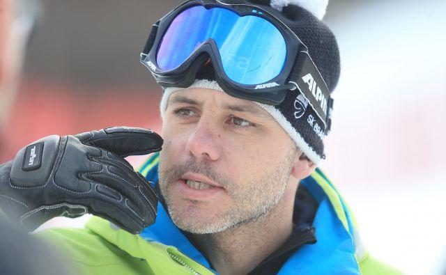 Mitja Dragšič je optimističen glede jutrišnje odločitve snežnega kontrolorja. FOTO: Tadej Regent/Delo