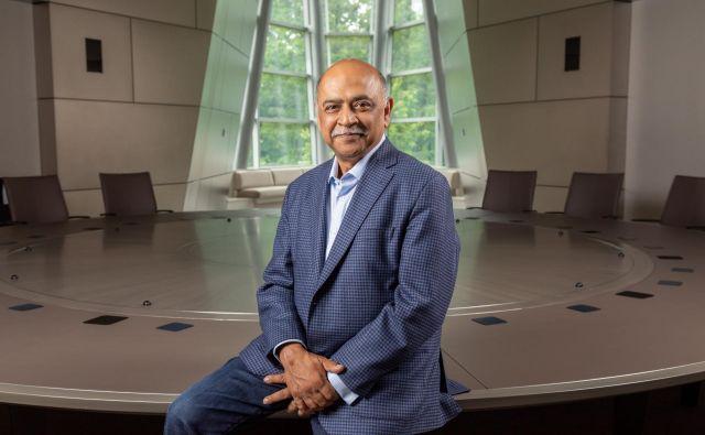Ameriško-indijski Inženir Arvind Krishna naj IBM povrne nekdanjo moč. Foto IBM