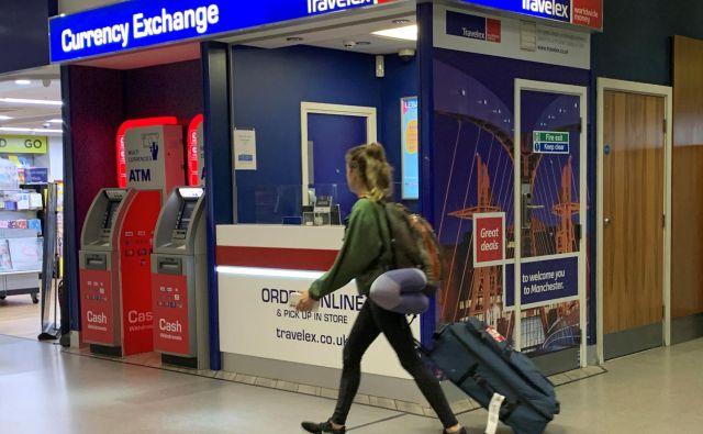 Travelex se je »sesedel« zaradi virusa. Foto Reuters
