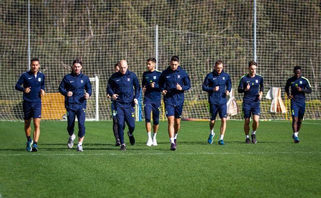 V Beleku se Olimpijini nogometaši počutijo odlično. FOTO: Aljoša Juhart/NK Olimpija