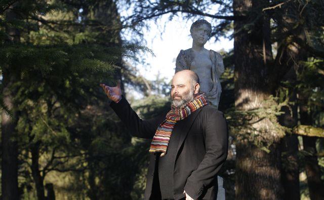 Teho Teardo je za film Martina Turka Ne pozabi dihati, premiera bo 18. februarja v Cankarjevem domu, zložil nepozabno glasbo. FOTO: Mavric Pivk